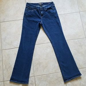 Lucky Brand Leyla Boot Ankle Blue Jeans Great!